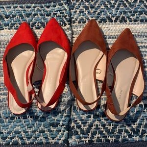 Primark pointed flats